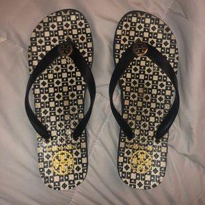 Tory Burch Flip Flops Size 8.5